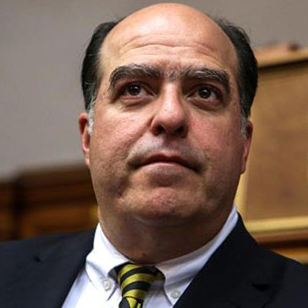 Candidatos a presidente de Venezuela Julio Borges