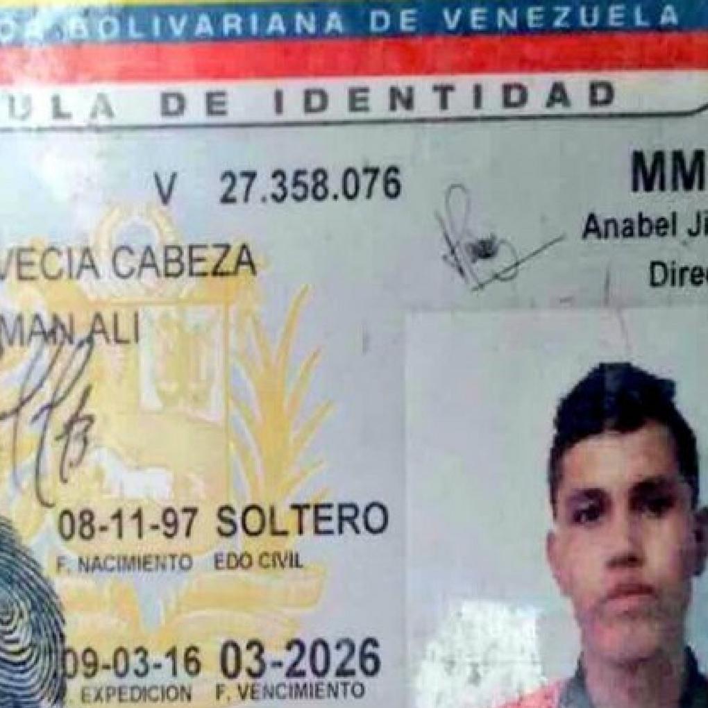 Yorman Alí Bervecia Cabeza