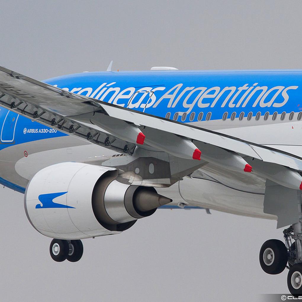 Aerolíneas Argentinas suspendió vuelos a Venezuela