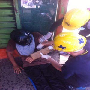 Arrollado en el Paseo Meneses: el segundo caído en Bolívar