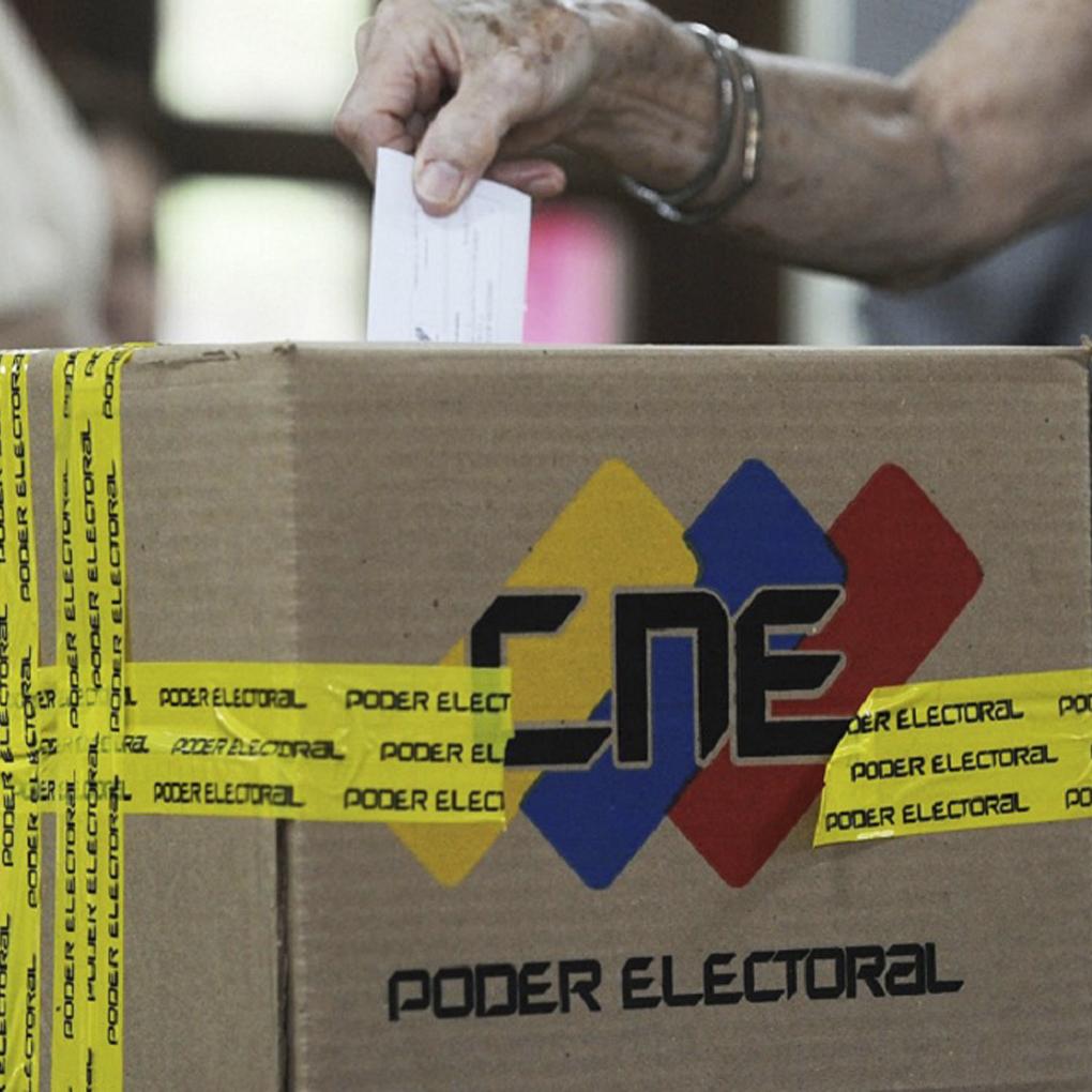 como saber donde voto por mensaje de texto en Venezuela