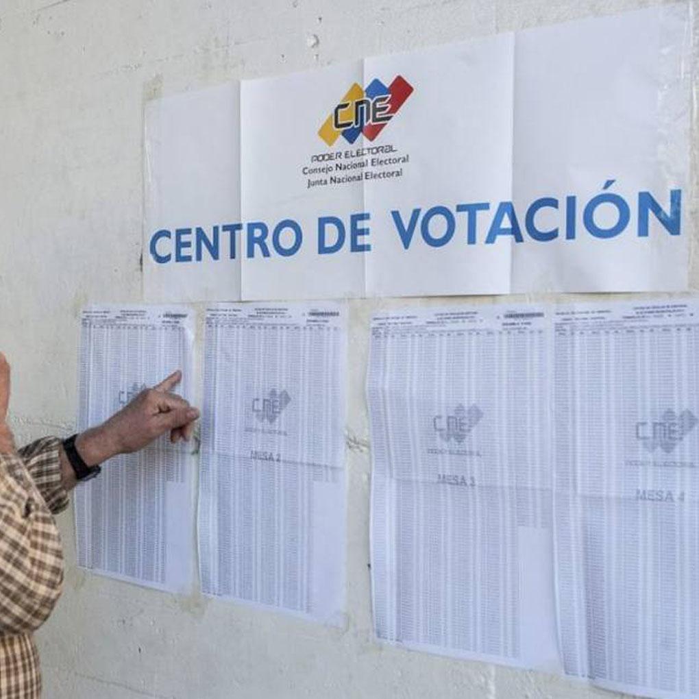 Listado de los centros de votación reubicados a nivel nacional