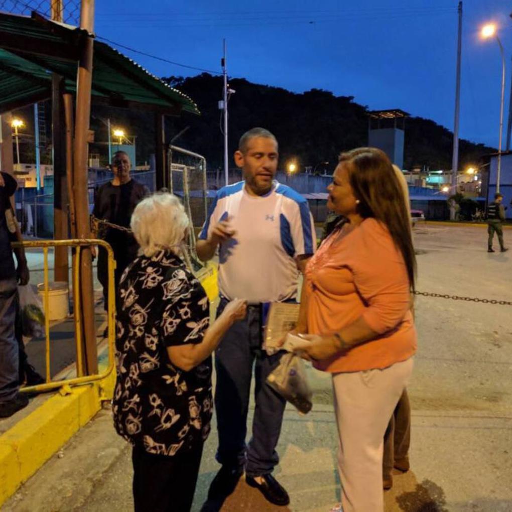 Efraín Ortega y otros dos presos políticos de 2014 fueron liberados