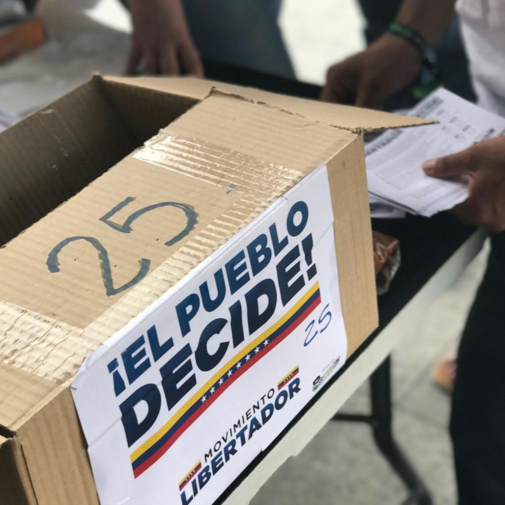 electores venezolanos