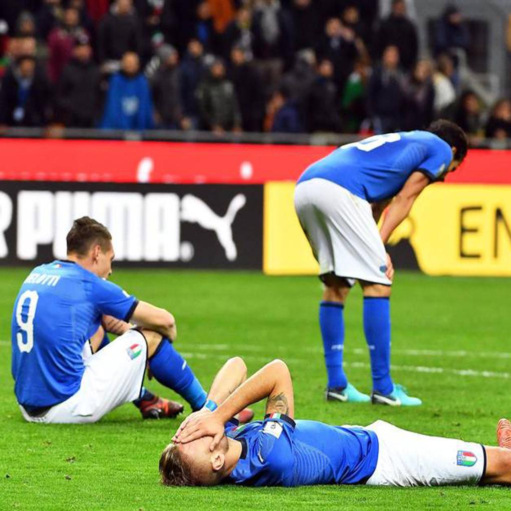 Italia fuera de Rusia 2018 tras empatar con Suecia