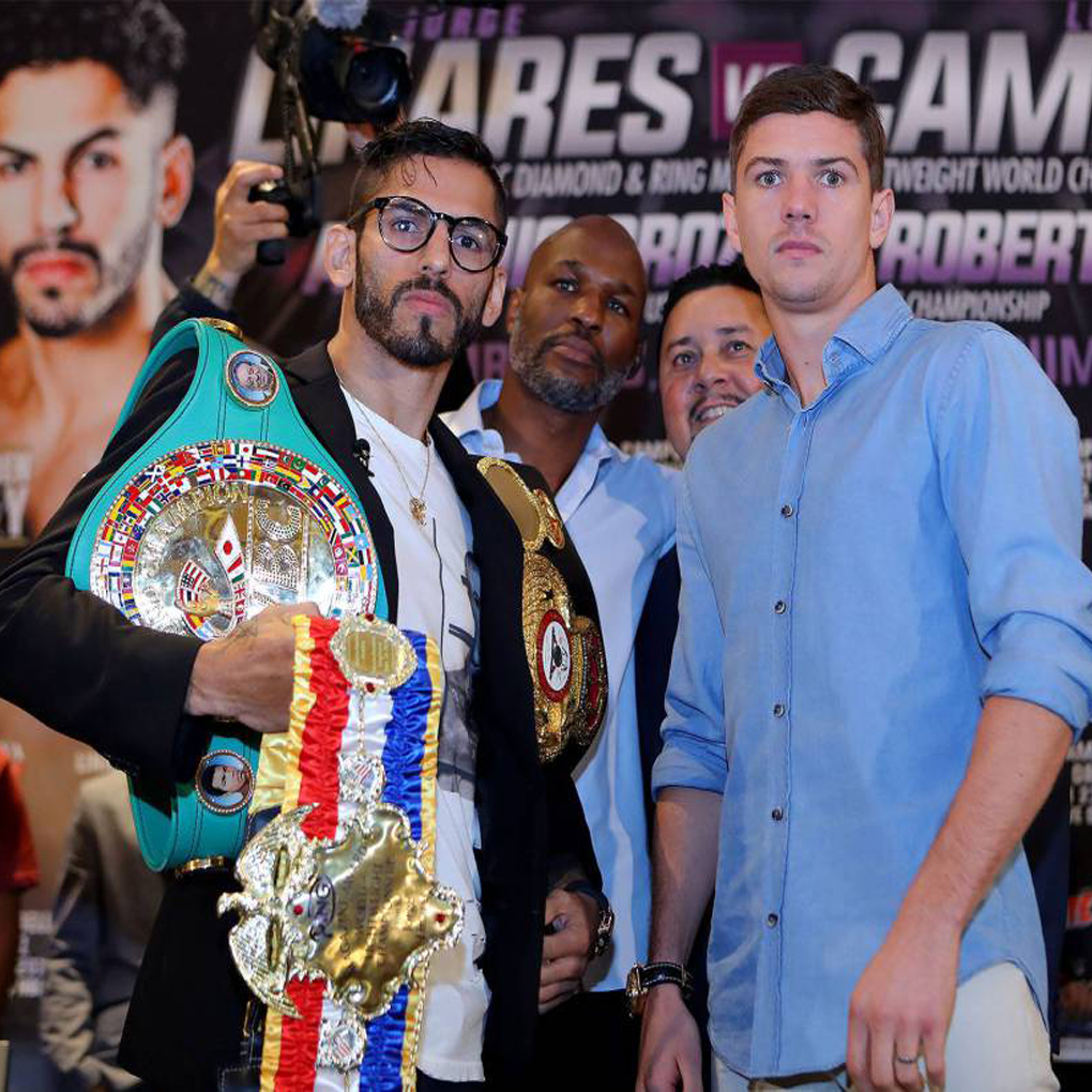 Jorge Linares vs Luke Campbell este sábado por la noche
