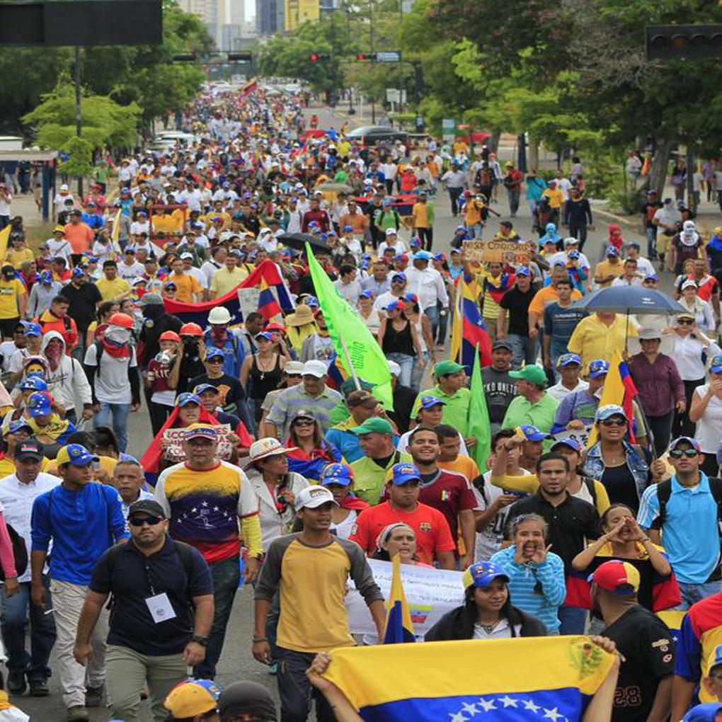 Marcha de la Batalla de Carabobo 24 de Junio Venezuela