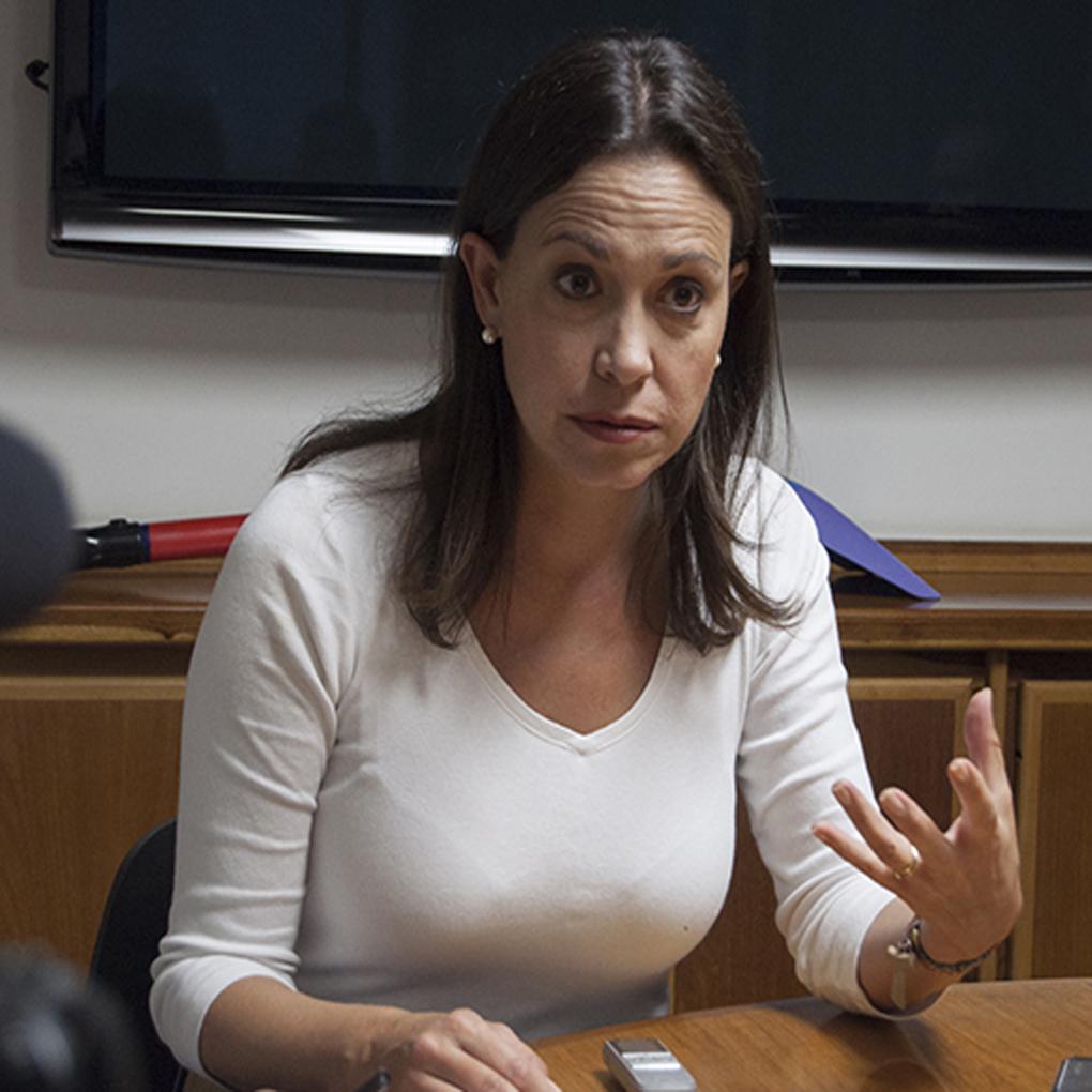 María Corina Machado no votará en las elecciones regionales
