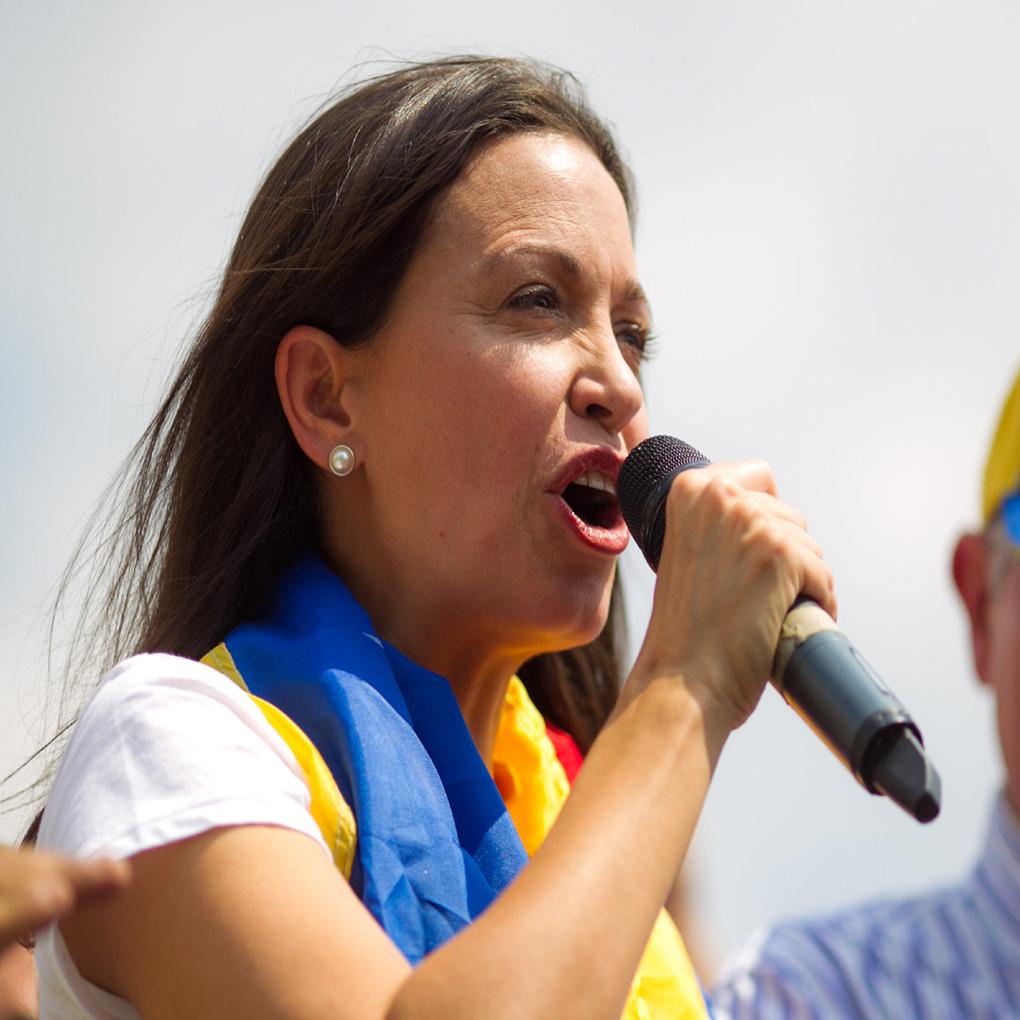 Negociación política en Venezuela no es descartada por María Corina