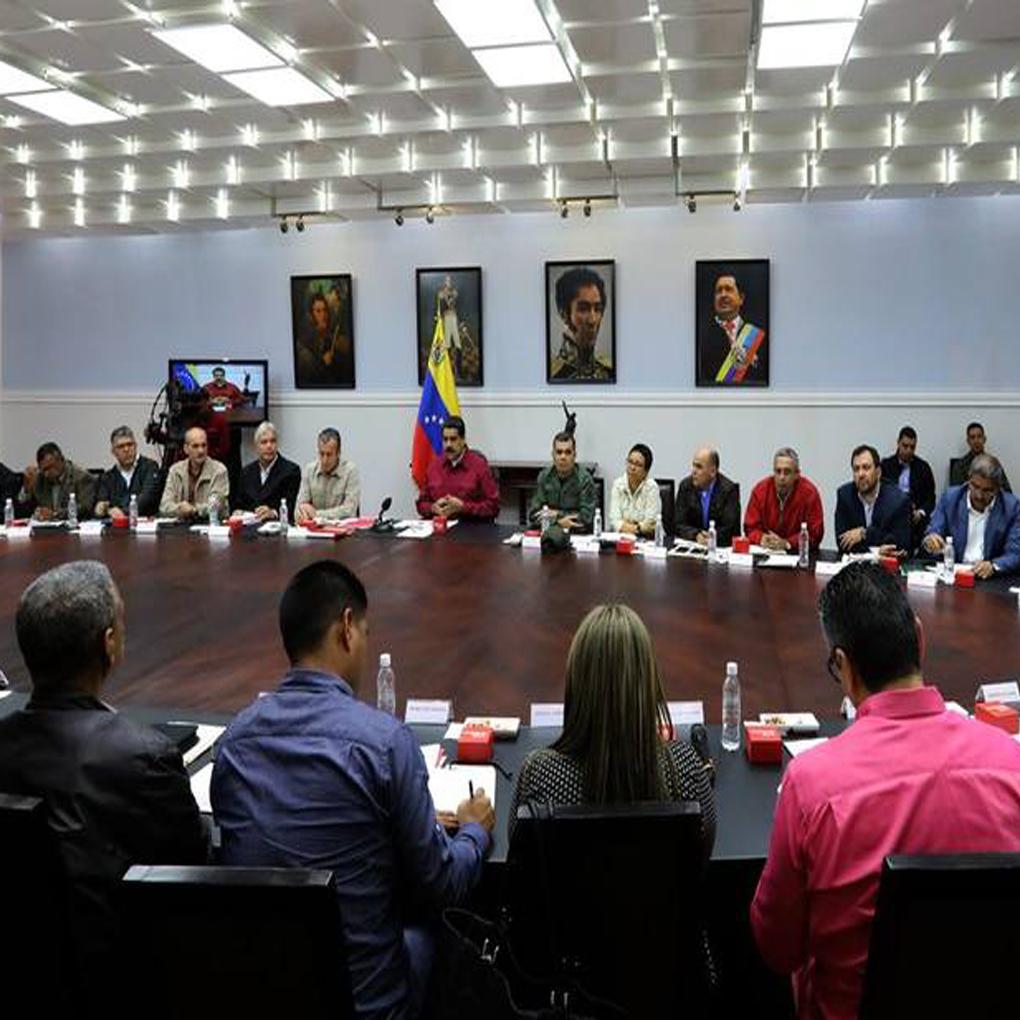 Nuevos ministros del Gobierno de Nicolás Maduro