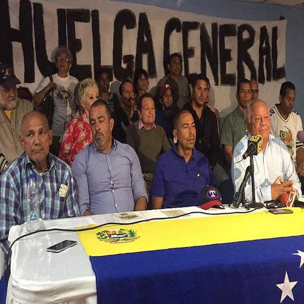Paro 48 horas es respaldado por 350 sindicatos del país