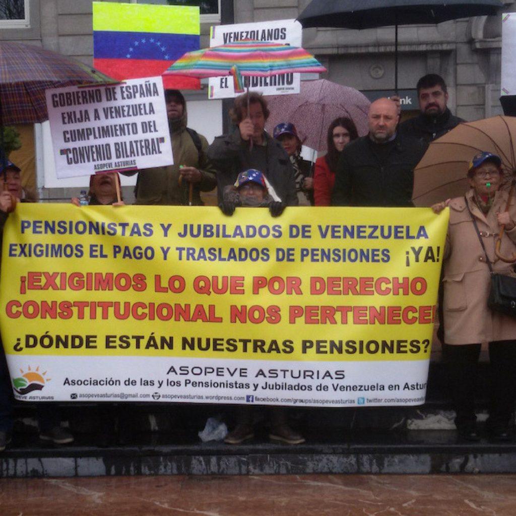 Pagos a los pensionados venezolanos en el exterior for Venezolanos en el exterior