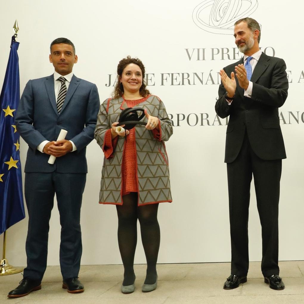 Venezolano recibe Premio Jaime Fernández de Araoz