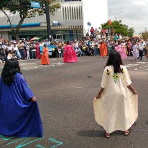 Pueblos indígenas marcharon en el Zulia contra la Constituyente