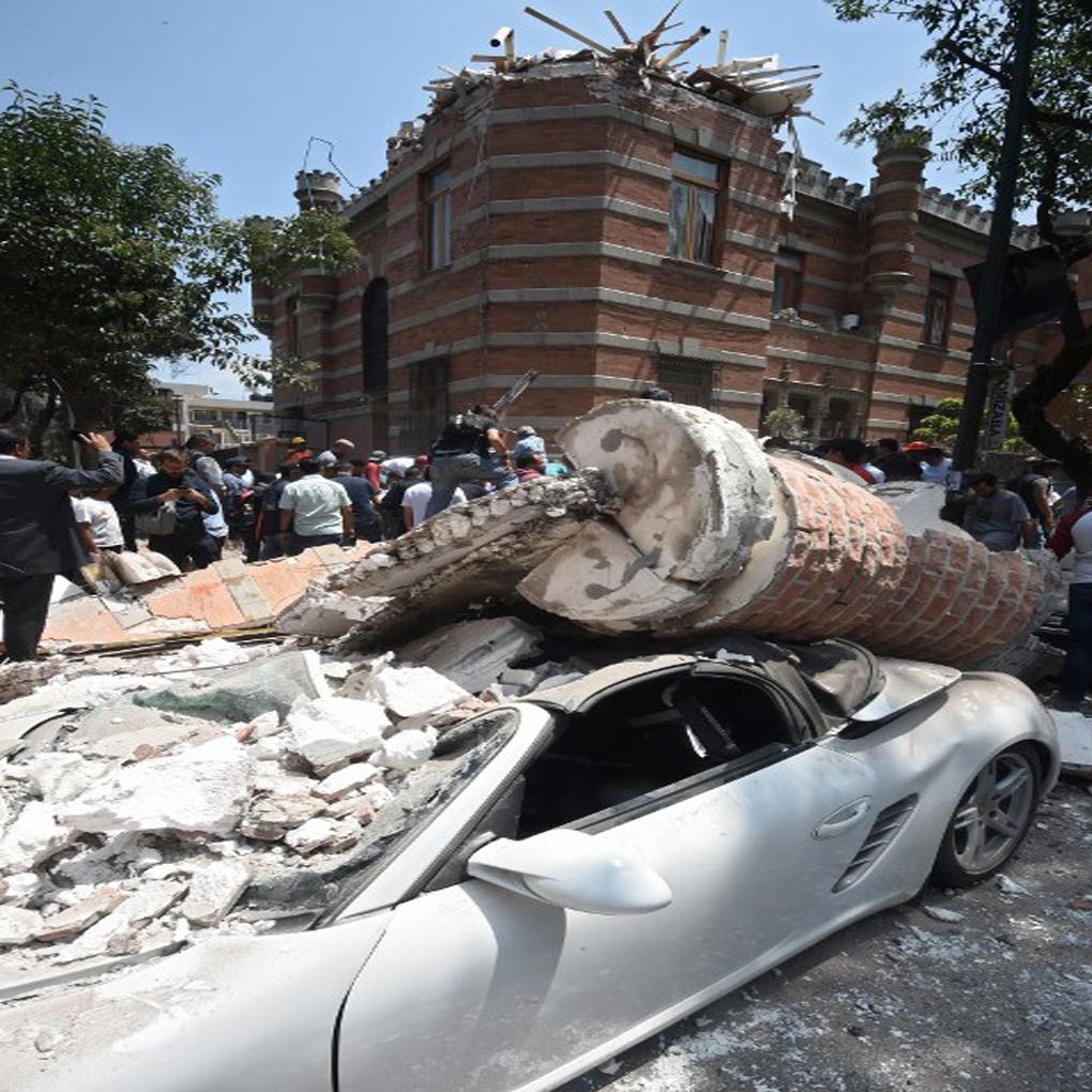 Terremoto en México hoy de magnitud 7,1 en la escala de Richter