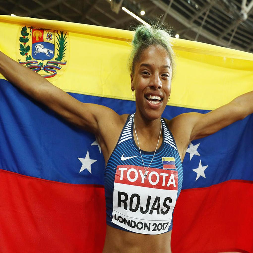 Yulimar Rojas atleta del año 2017 en el continente americano