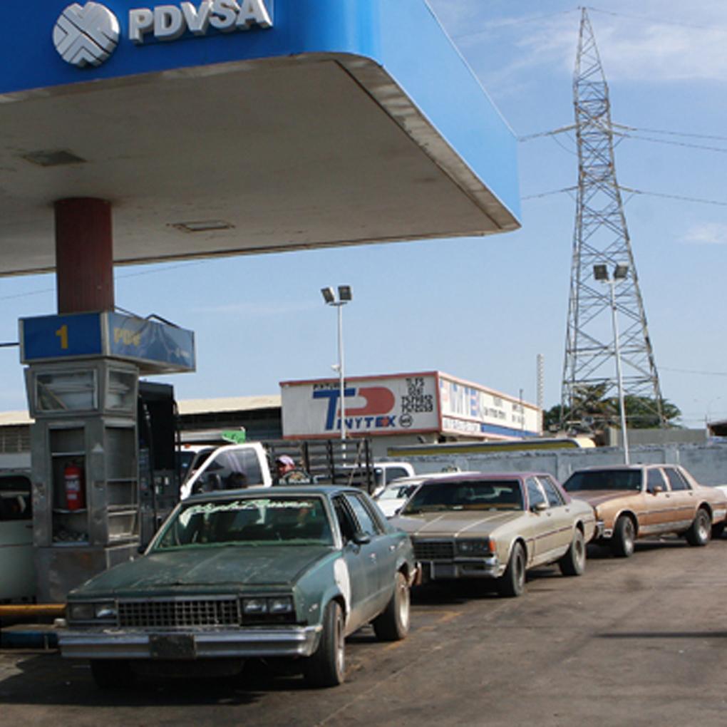 Por qué no hay gasolina en Venezuela