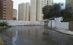 Aguas servidas en Maracaibo