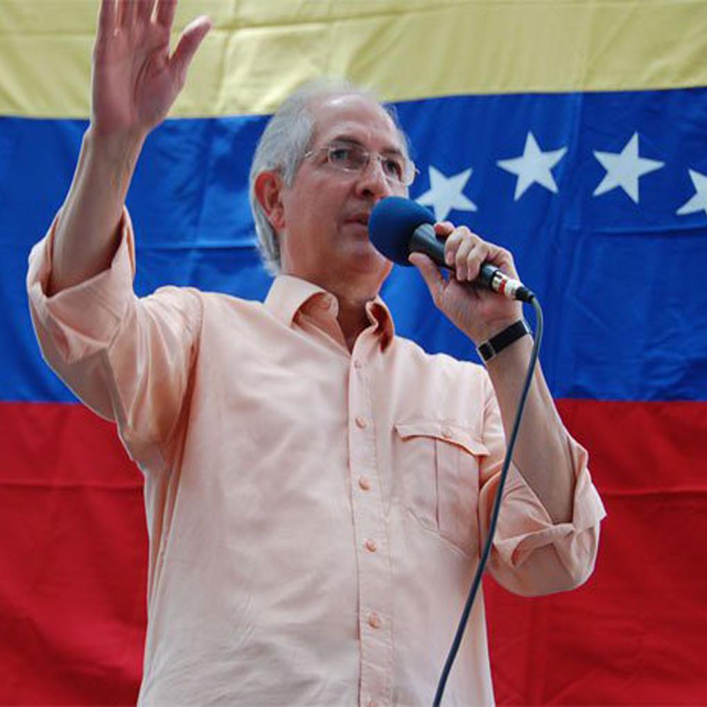 Antonio Ledezma escapa de Venezuela con destino a Europa