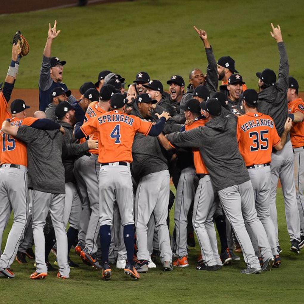 Astros de Houston campeones de la Serie Mundial de la Grandes Ligas