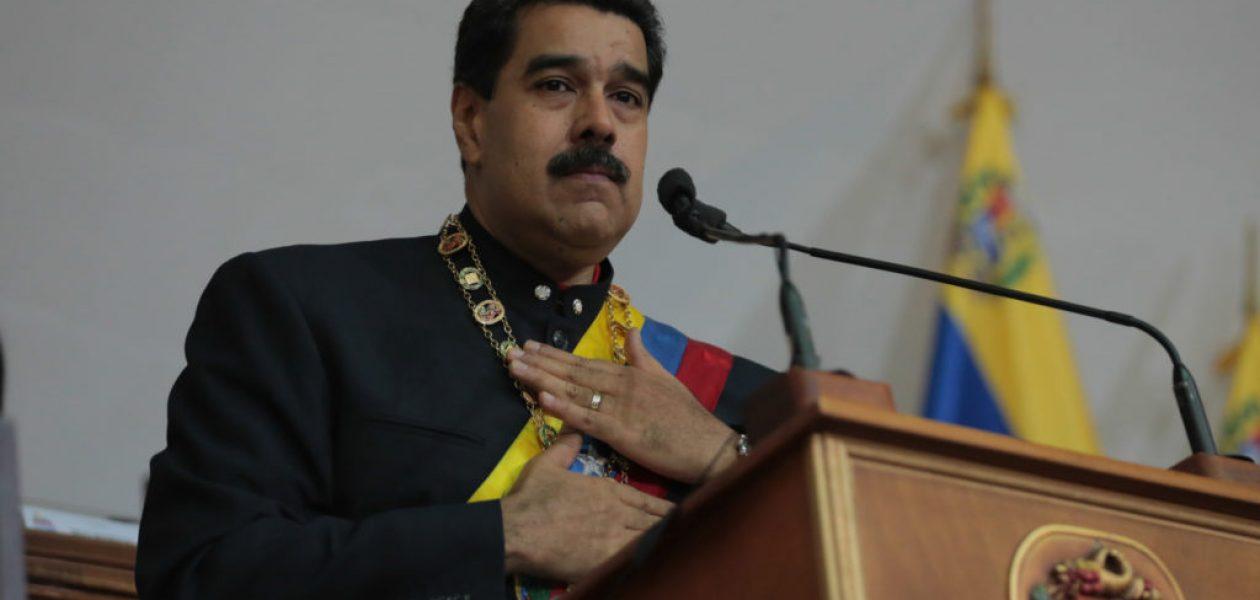 Maduro propone «mega-elecciones» para el 22 de abril