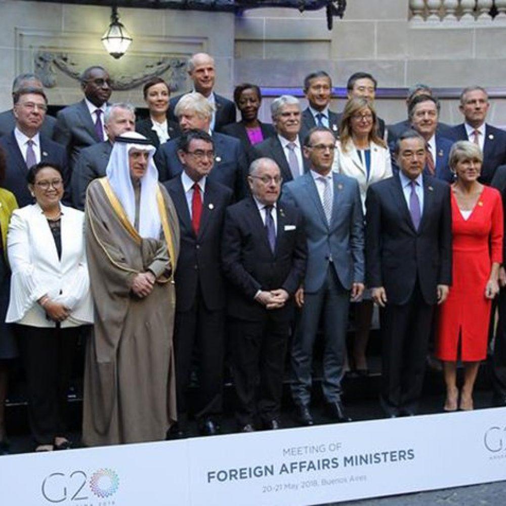 Países del G20 también desconocen elecciones en Venezuela y amenazan con aplicar sanciones