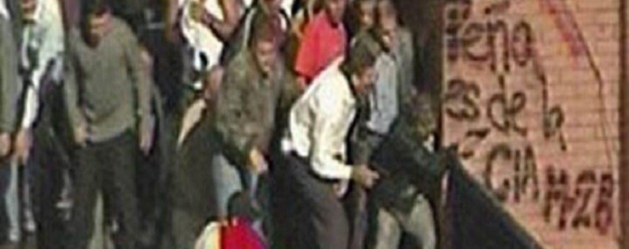 Richard Peñalver »el tirador de Puente Llaguno» estaría pidiendo asilo político en España