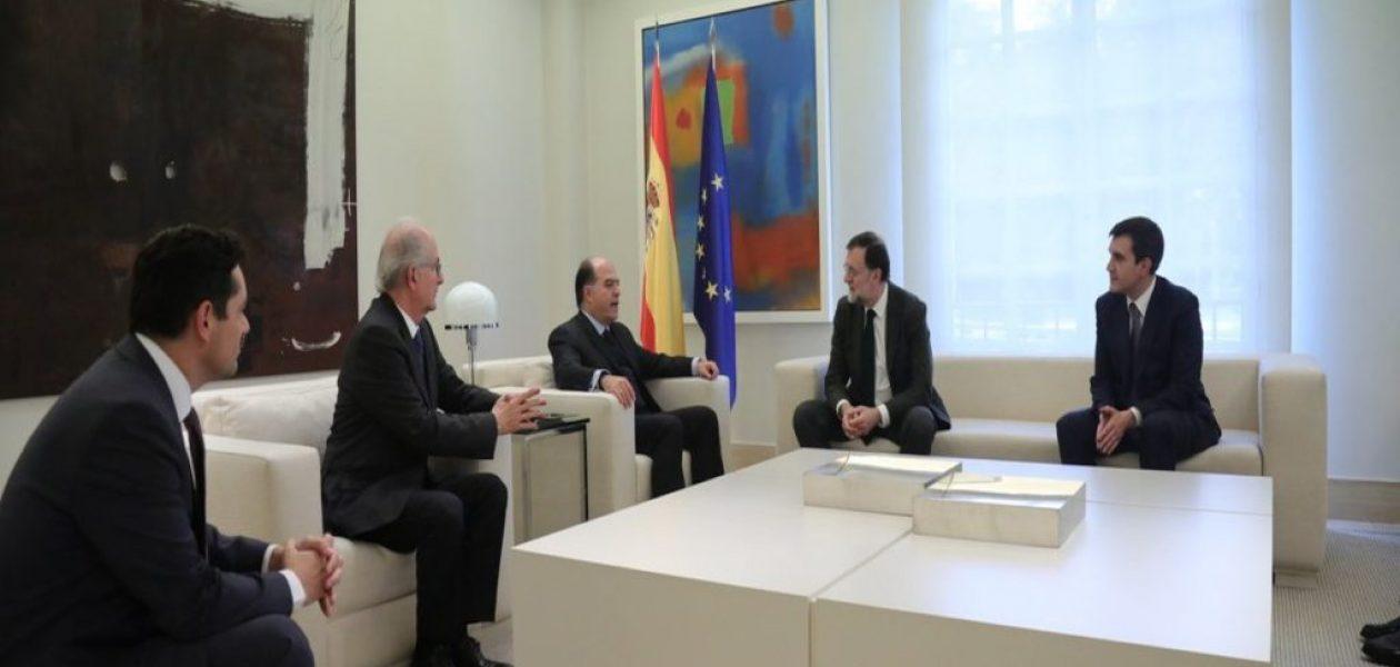 Presidente Rajoy expresó su apoyo por la libertad en Venezuela