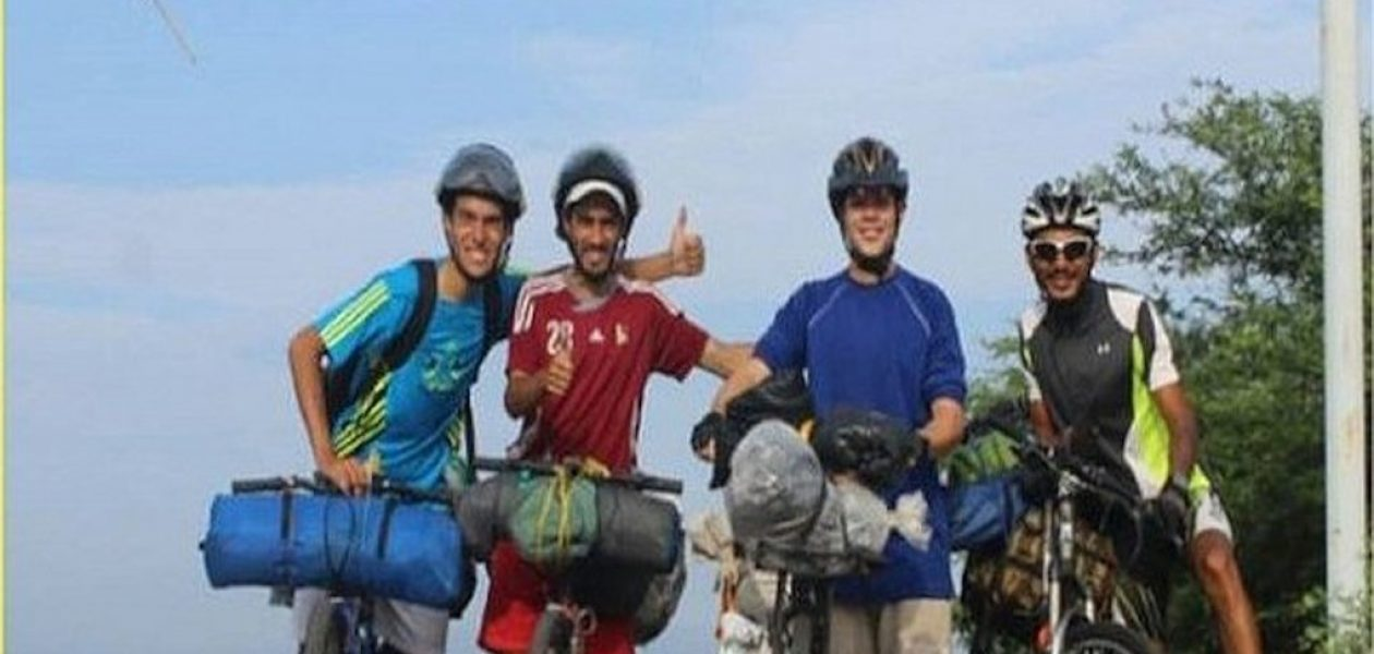 Cuatro venezolanos llegan a Perú luego de pedalear 35 días en bicicleta