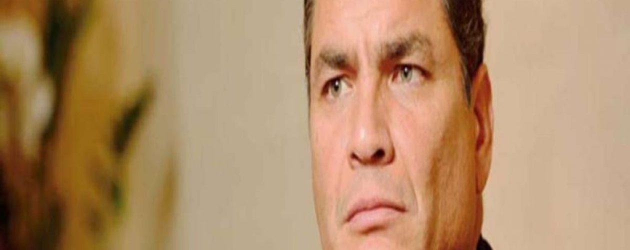 Expresidente de Ecuador dijo que en Venezuela no existe la crisis humanitaria