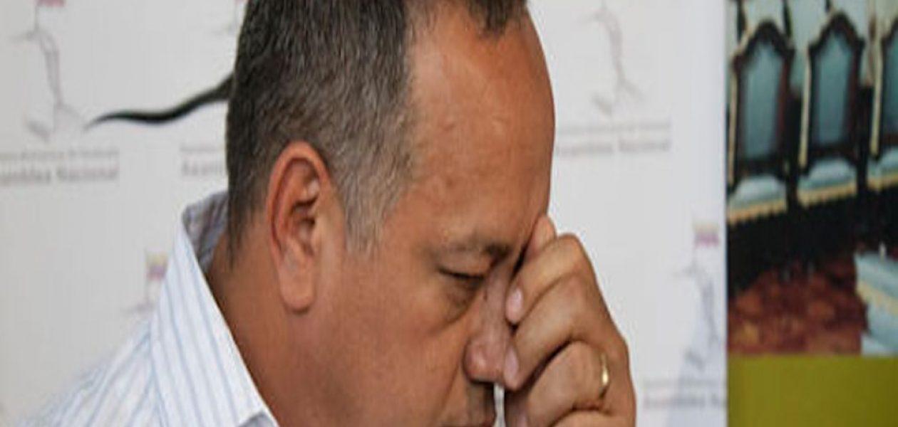 EE. UU. sancionó a Diosdado Cabello, a su familia y testaferro