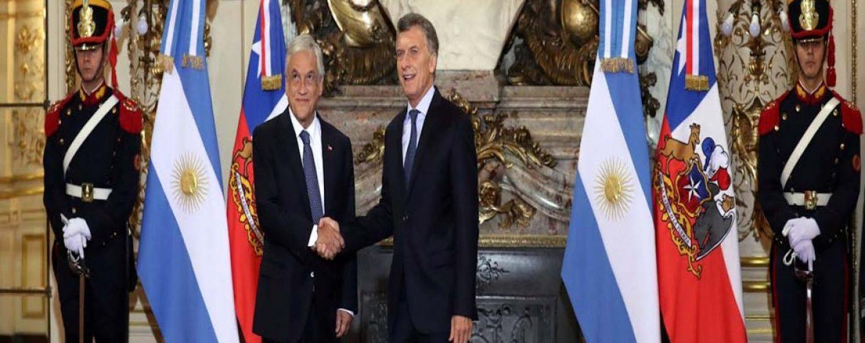 Presidentes de Chile y Argentina piden el «fin» de la crisis en Venezuela