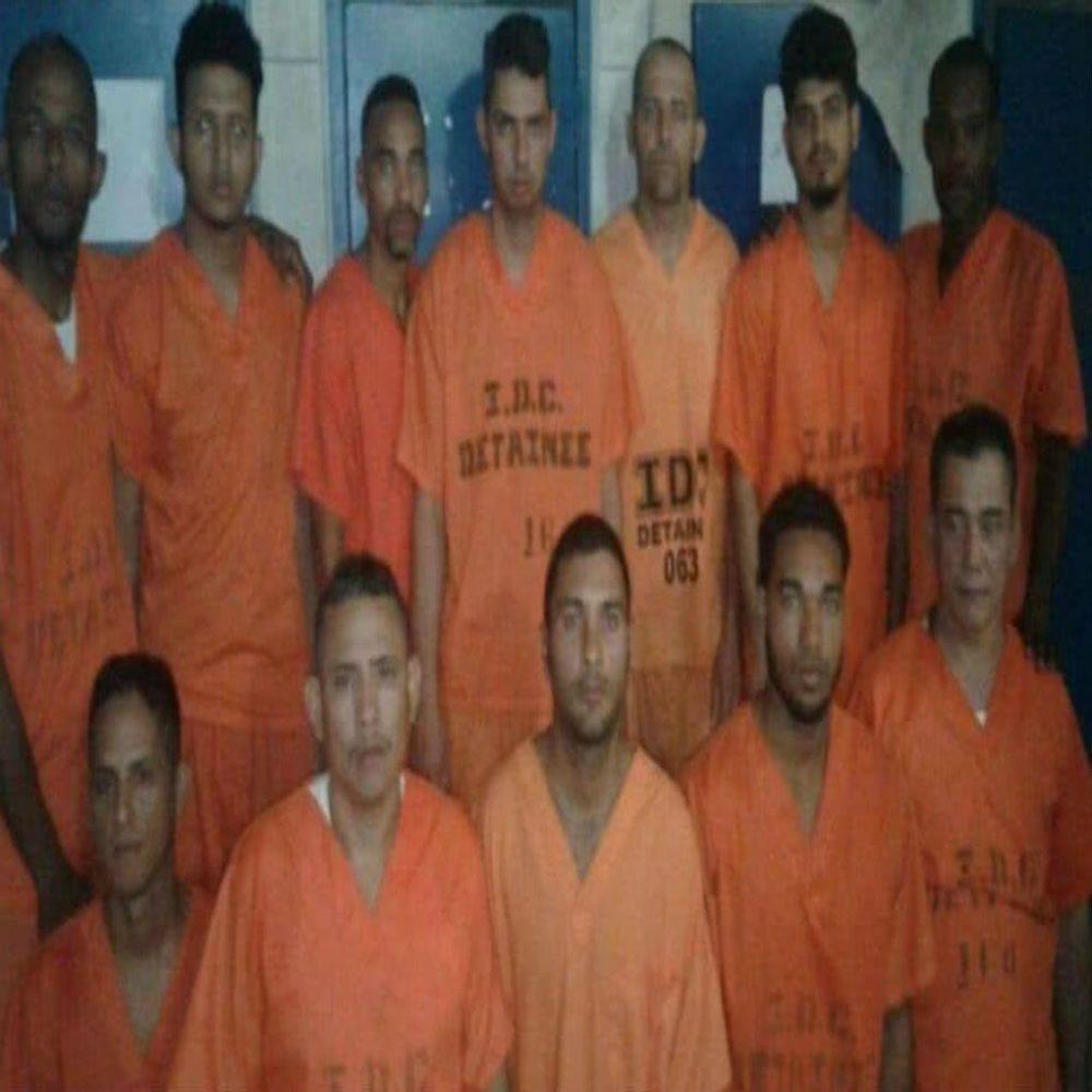 Venezolanos detenidos en Trinidad y Tobago realizan «protesta de sangre»