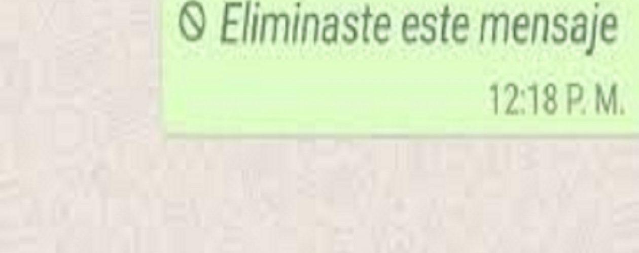 Con este truco, podrás leer los mensajes eliminados de Whatsaap