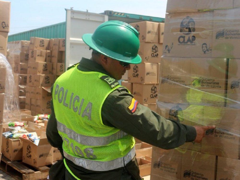 Colombia decomisa alimentos «no aptos» que se entregarían por los CLAP