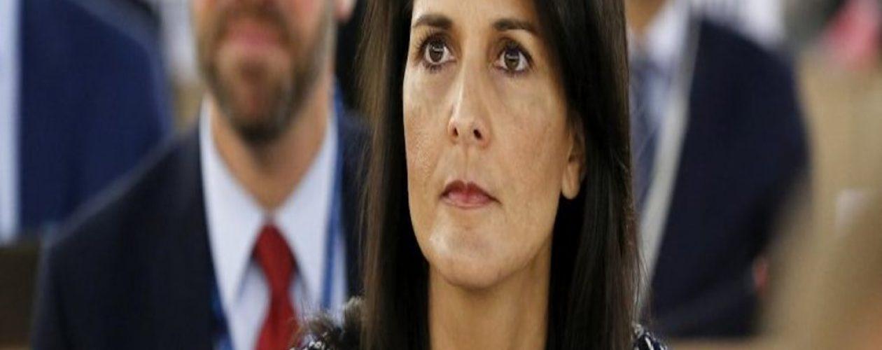 """Embajadora de EEUU dice que es hora de que Maduro """"se vaya"""" del poder"""