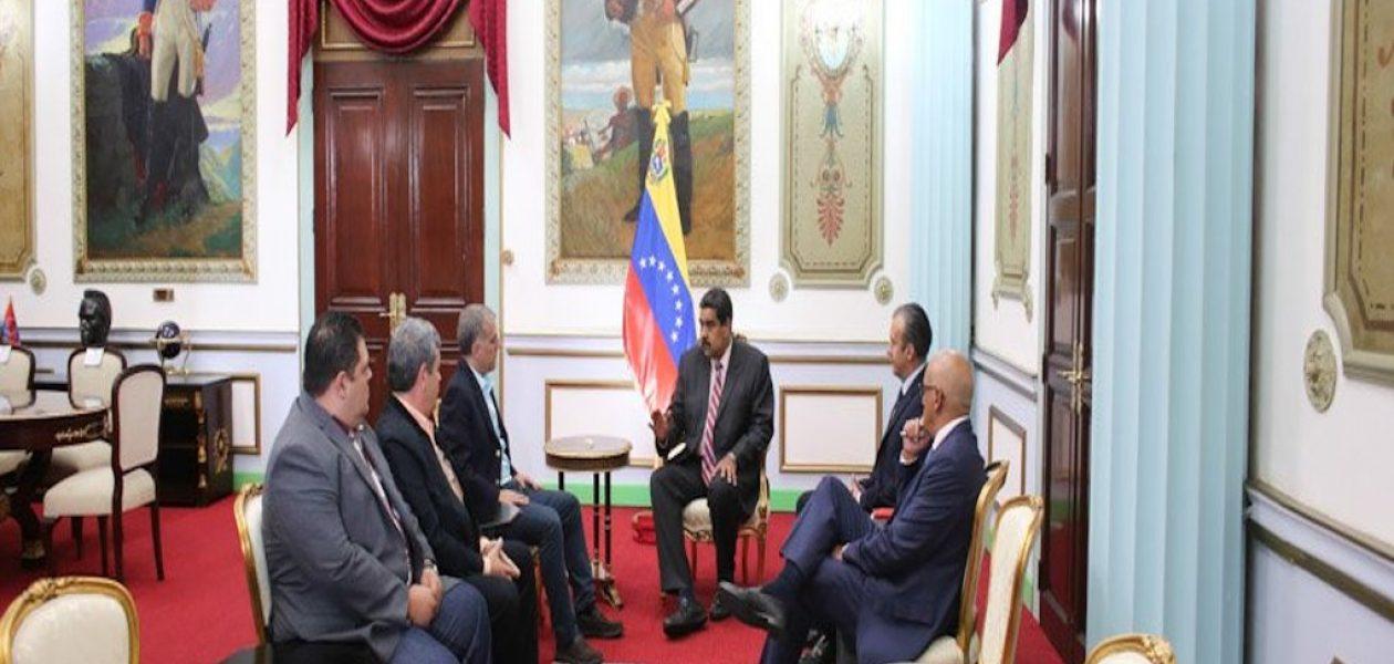 Integrantes de Copei exigieron la liberación de los presos políticos tras reunión con Maduro