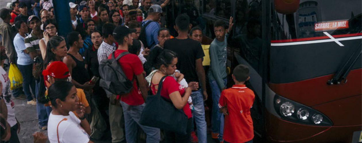 El Zulia ratifica la paralización del transporte para este miércoles