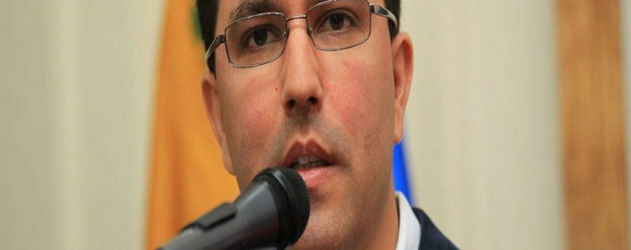 Arreaza solicitó al gobierno peruano reflexionar sobre la asistencia de Maduro