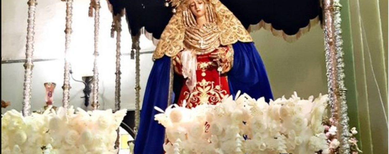 Virgen en Madrid fue vestida con los colores de Venezuela (Foto)