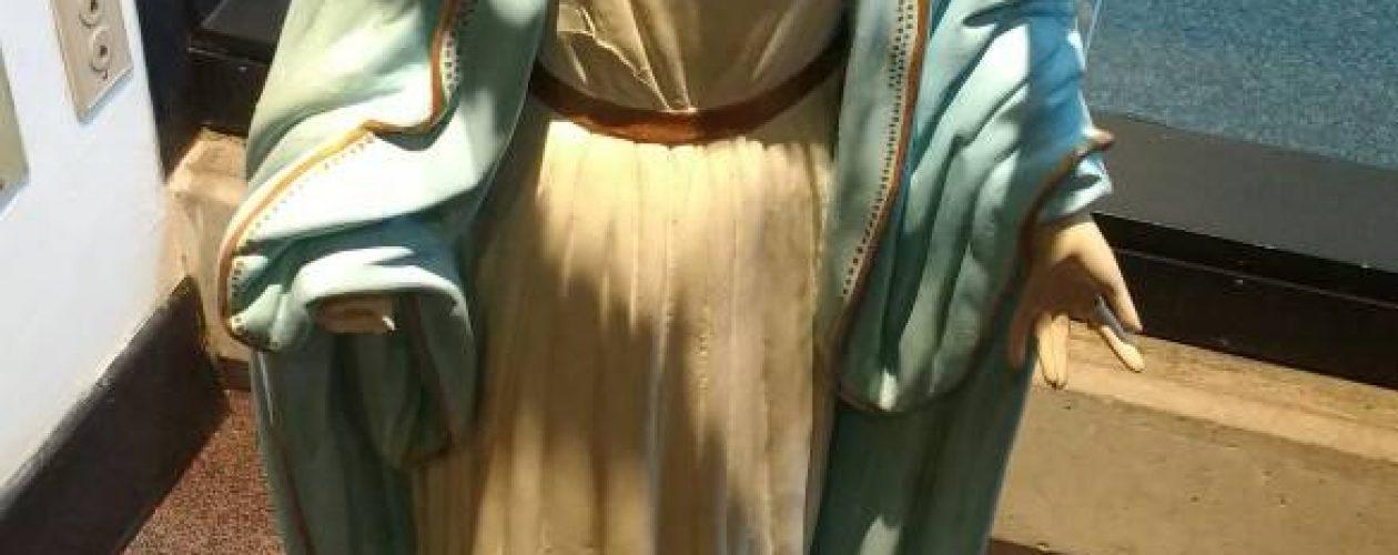 Virgen Milagrosa no fue hurtada de la Plaza Altamira