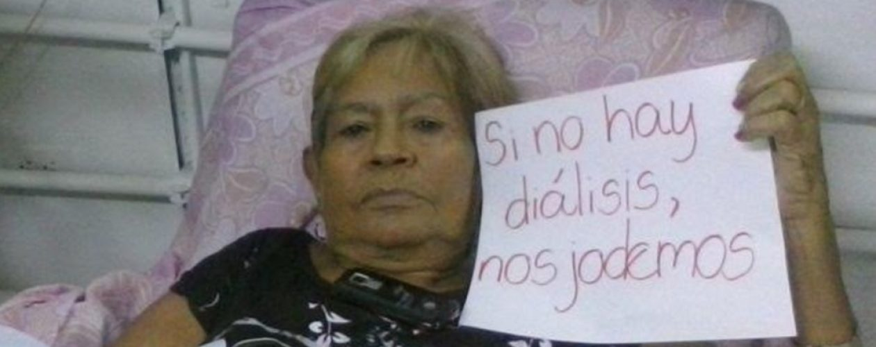 Al menos 42 pacientes renales a punto de morir en San Félix