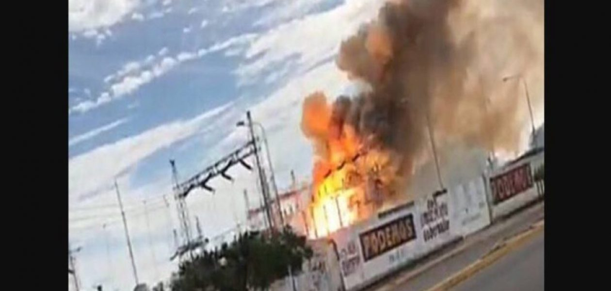 Explosión en subestación eléctrica en Cabimas dejó a oscuras ocho sectores del Zulia