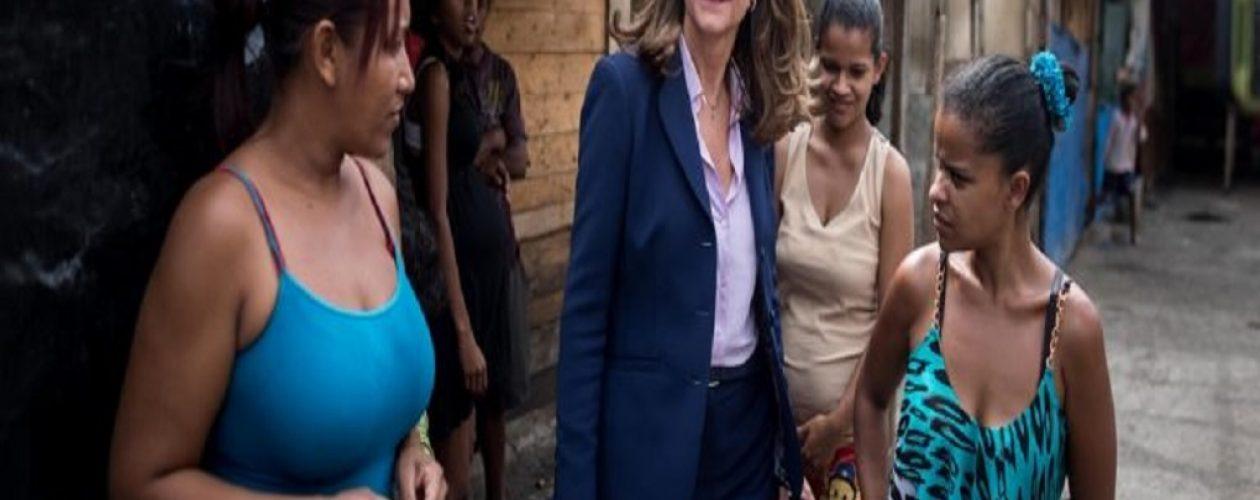 Candidata a la presidencia de Colombia en su visita a Venezuela dijo «esto es lo que sucede cuando la gente cree en el populismo»