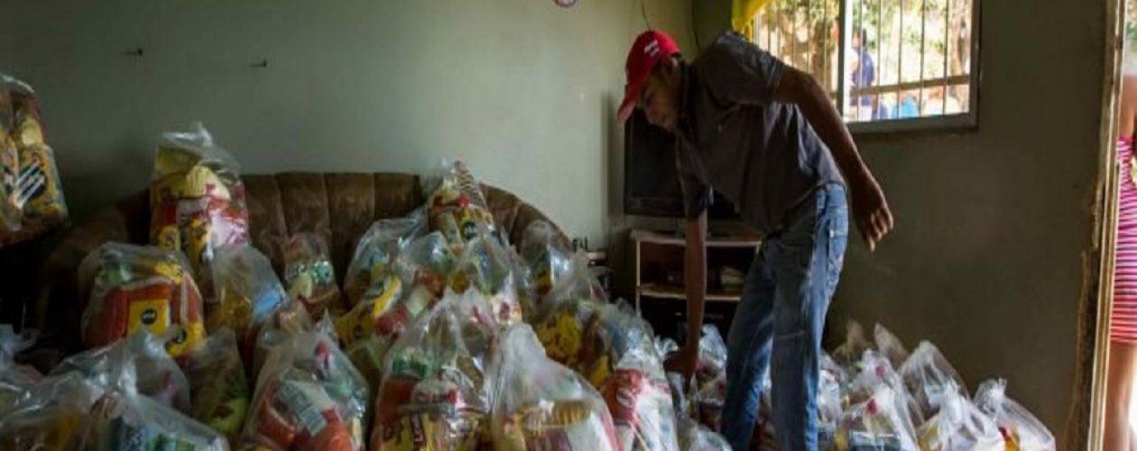 Denuncian que las cajas del Clap  en Caricuao llegaron abiertas