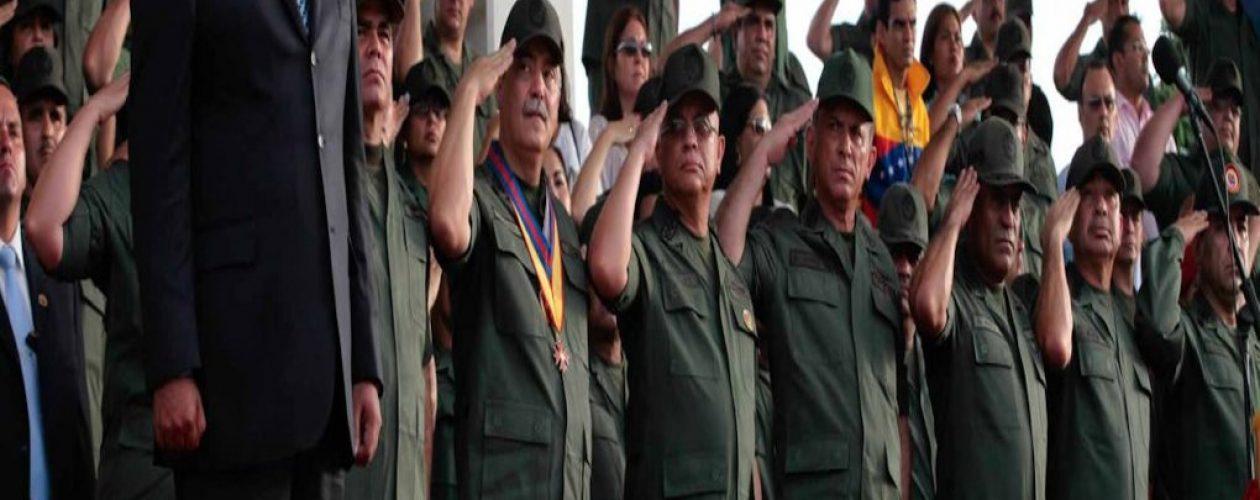Detuvieron  a 11 oficiales de la Armada y Aviación tras reeleción de Maduro