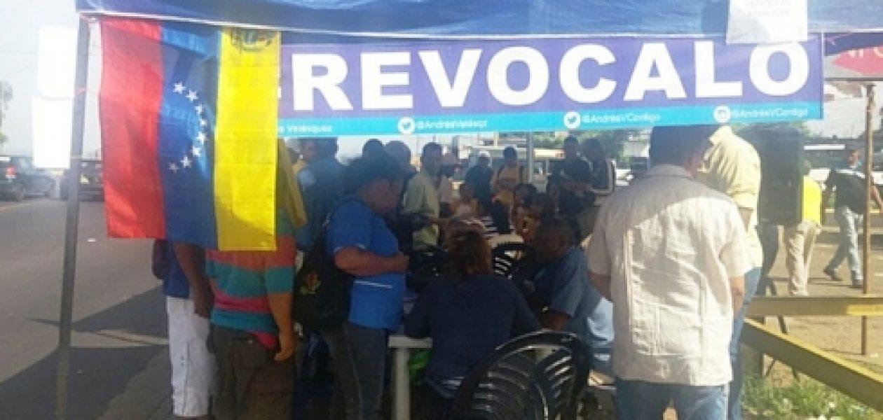 Trabajadores convocan a encuentro en apoyo al referendo revocatorio