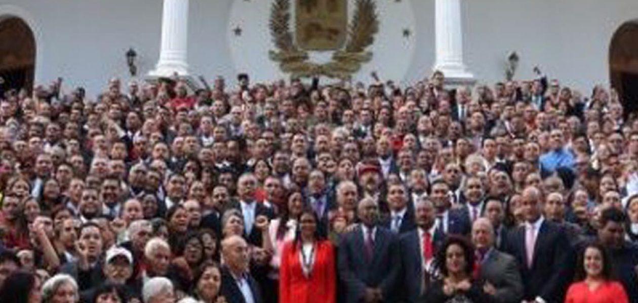 Asamblea Nacional Constituyente: Decisiones polémicas de una ilegitima