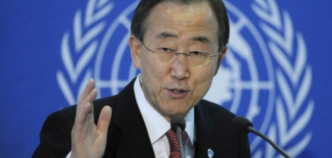 Ban Ki-moon: «En Venezuela existe una crisis humanitaria»