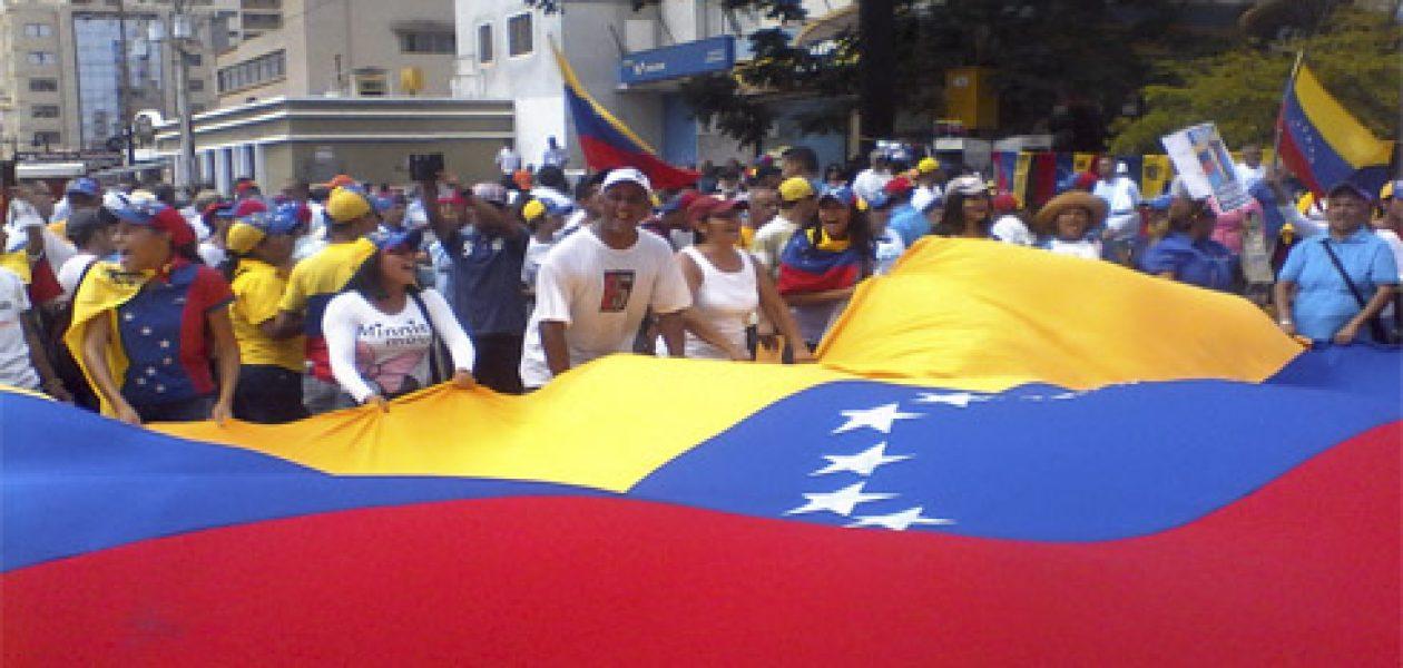Zulianos toman Maracaibo para exigir cambio de gobierno